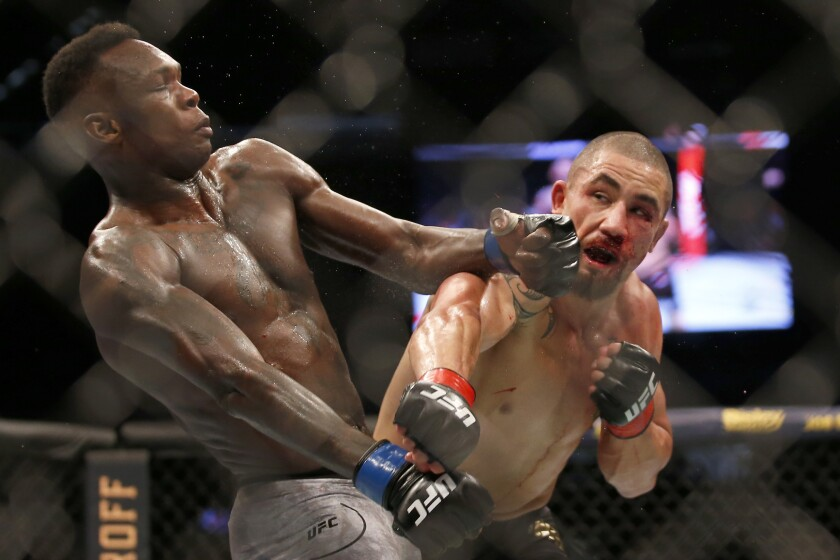UFC 243 recap: Israel Adesanya knocks out Robert Whittaker in second round