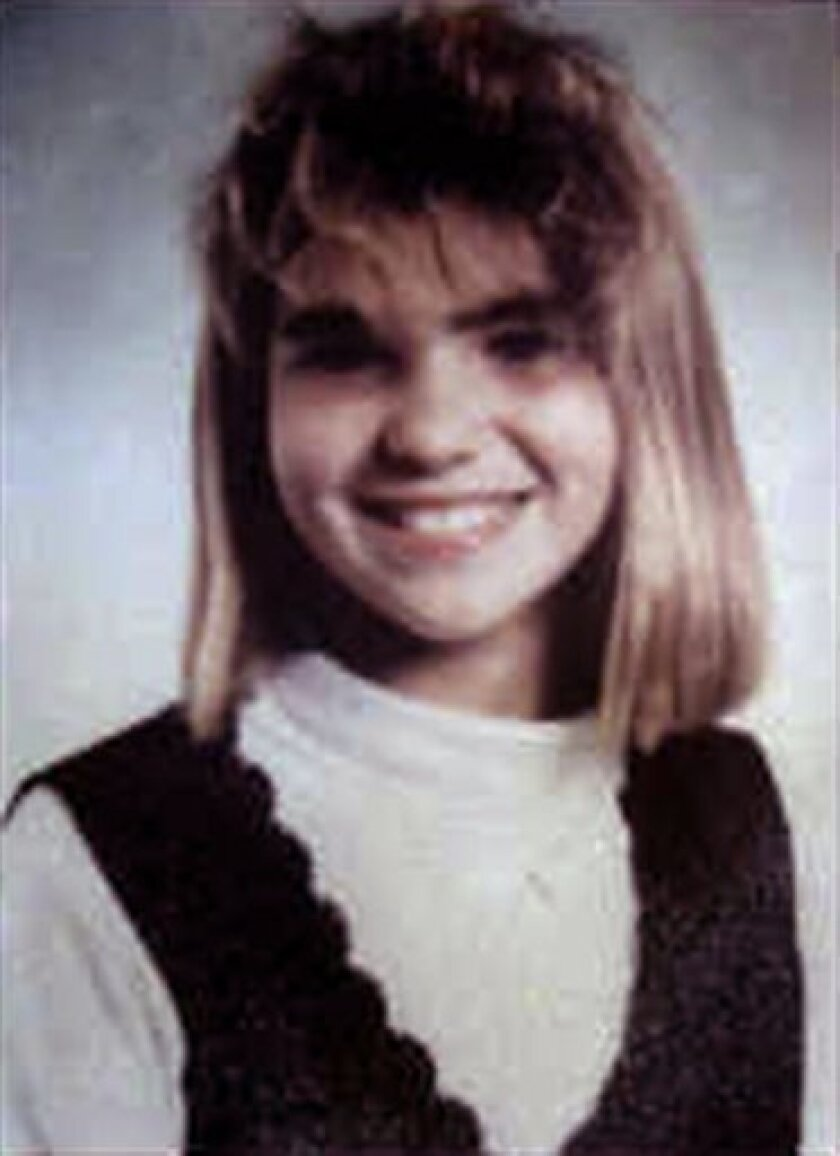 Jennifer Odom is seen in an undated photo provided by the Hernando County, Fla., Sheriff's Office. Odom disappeared on Feb. 19, 1993, after she stepped off her school bus in rural Florida. The 12-year-old's body was found six days later on a nearby horse trail. Investigators are renewing efforts to