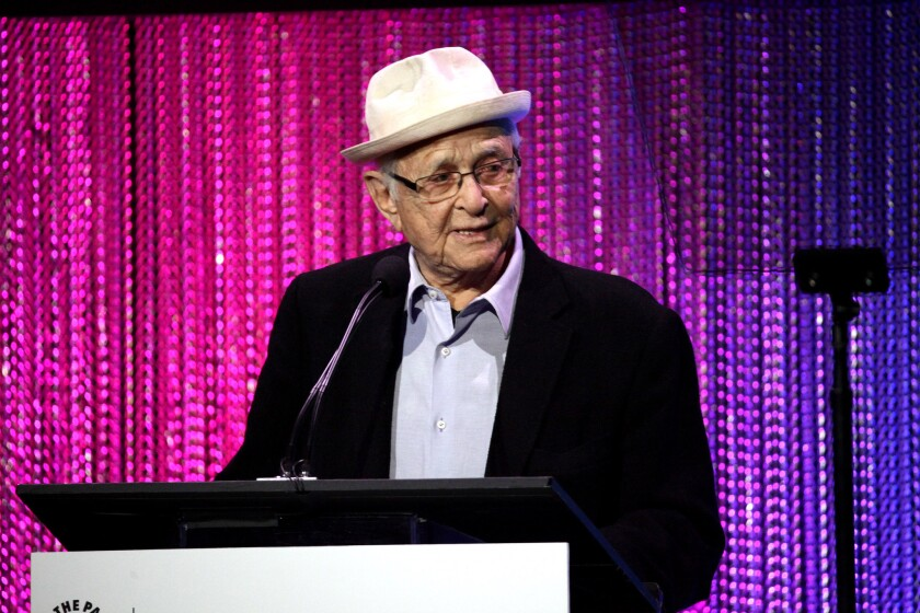 Television writer Norman Lear