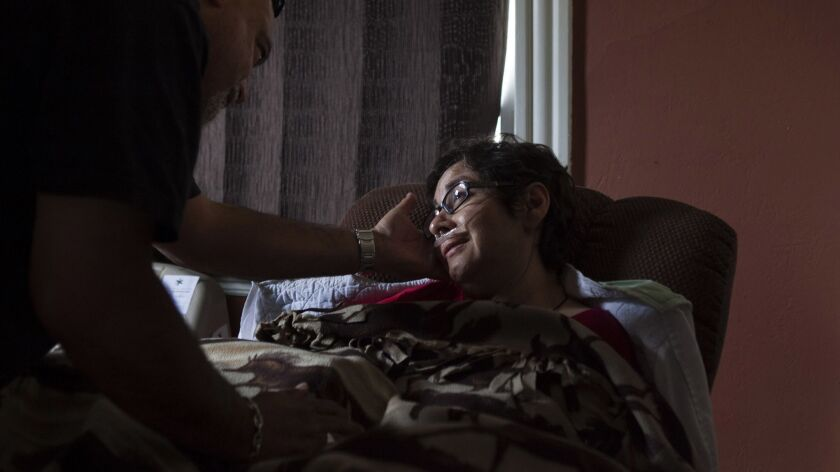 Angie Bloomquist, diagnosed with ALS, wished to avail herself of right to die in 2013.