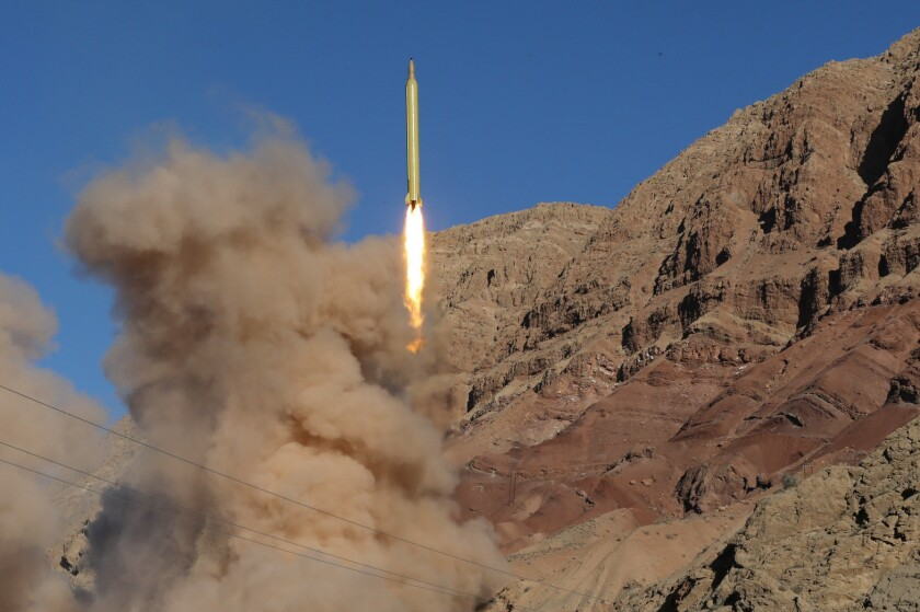 Iran missile launch