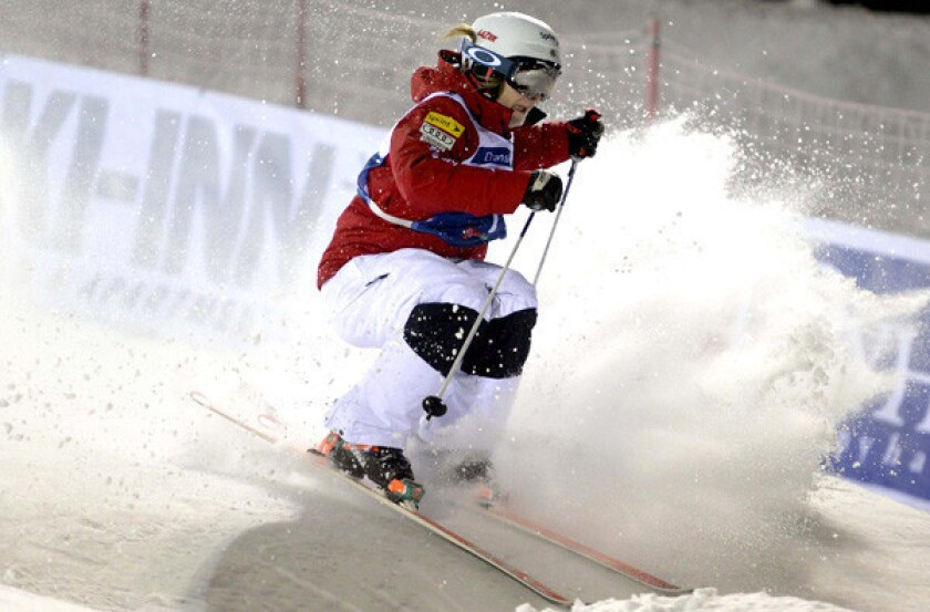 Freestyle moguls skiing gets tougher, but Hannah Kearney doesn't mind