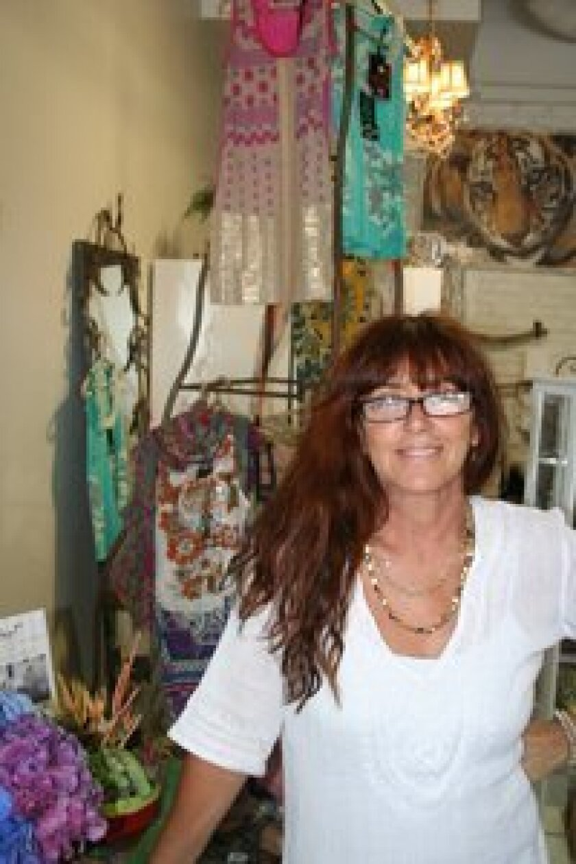 Brenda Lurie owns Let's Go Home which recently opened in Del Mar Highlands Town Center