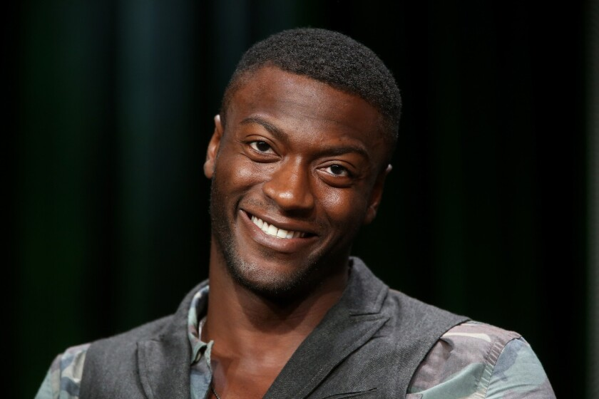 "Aldis Hodge will play MC Ren in the N.W.A biopic ""Straight Outta Compton."""