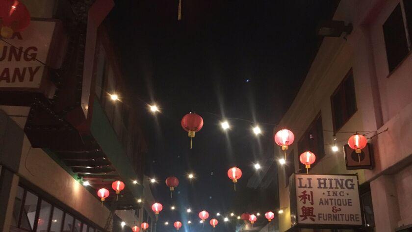 Lanterns on Chung King Road.