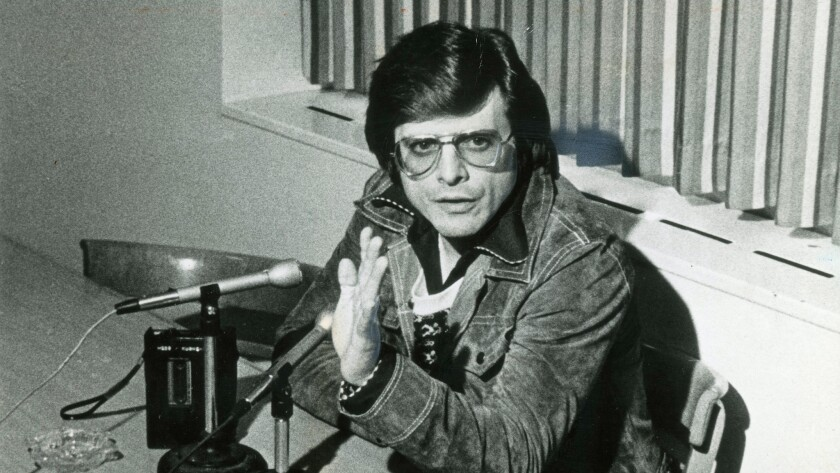 Writer Harlan Ellison in 1978. CREDIT: Times File Photo