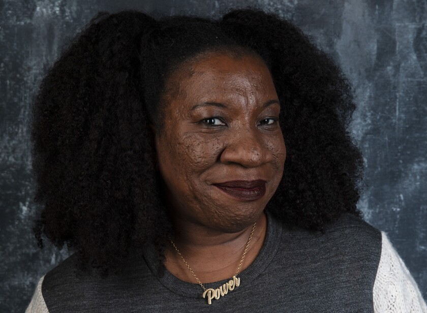 PARK CITY, UTAH -- JANUARY 27, 2019 -- Tarana Burke, Founder of the #MeToo movement, photographed at