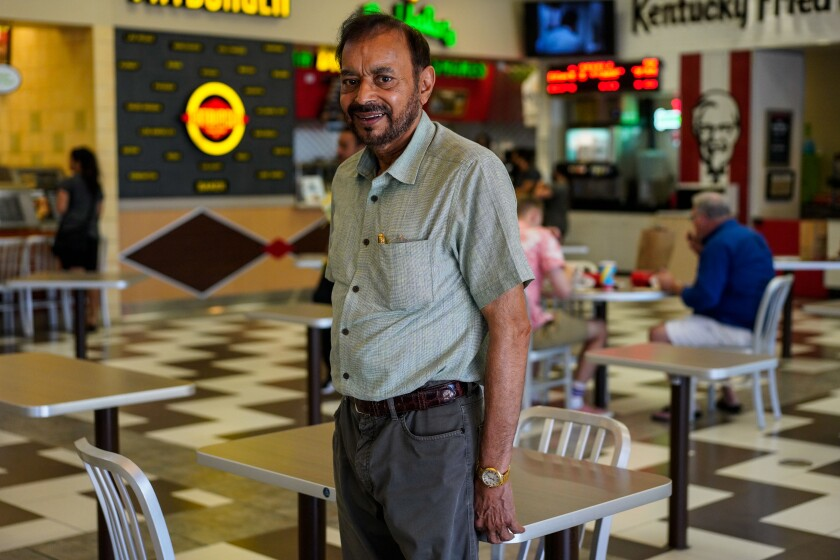 Ravinder Grewal owns 21 franchise restaurants in Baker, Calif., including Cinnabon, Yogurtland, Taco Bell and Pizza Hut.