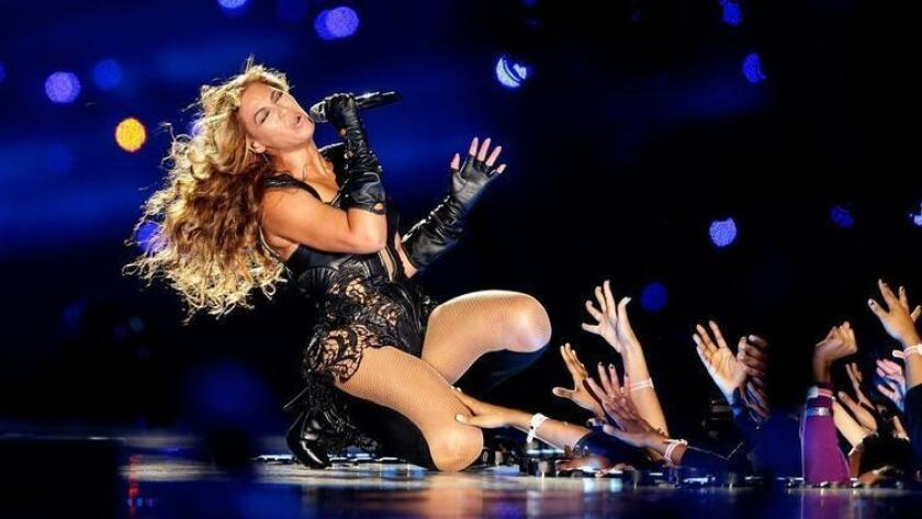 NEW ORLEANS, LA - FEBRUARY 03: Singer Beyonce performs during the Pepsi Super Bowl XLVII Halftime Show at the Mercedes-Benz Superdome on February 3, 2013 in New Orleans, Louisiana. (Photo by Ezra Shaw/Getty Images) (/ Getty Images)