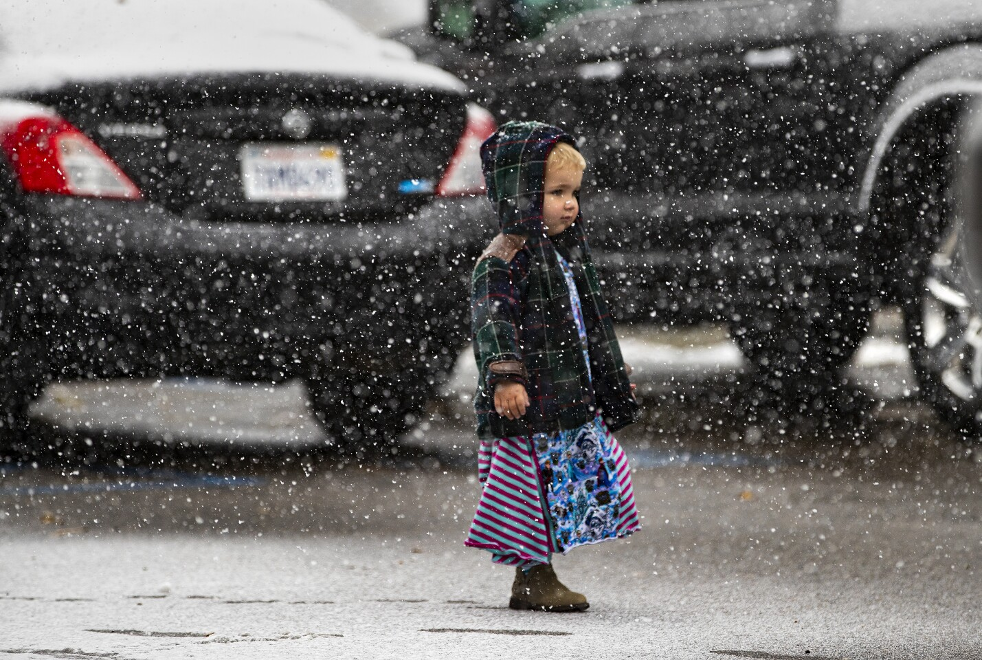 First storm of the season rolls through Southern California