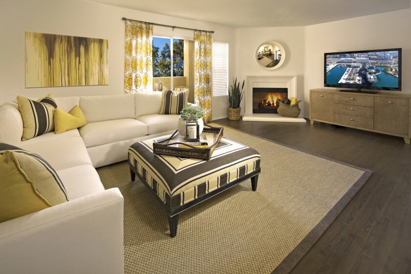 At The Village Mission Valley Apartment Homes, choose from a one-, two- or three-bedroom floor plan for your apartment home or townhome. All homes feature an elegant contemporary design and hardwood floors throughout.