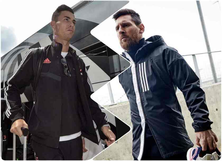 Cristiano Ronaldo y Lionel Messi, referentes del fútbol mundial.