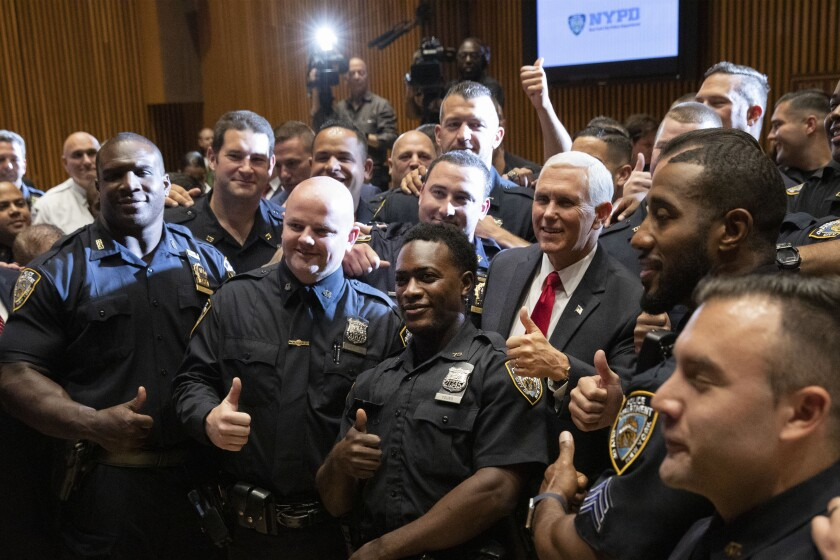 Pence NYPD