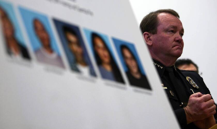 Long Beach Police Chief Jim McDonnell was a member of a commission that excoriated the leadership of Sheriff Lee Baca, depicting him as a disengaged and uninformed manager.
