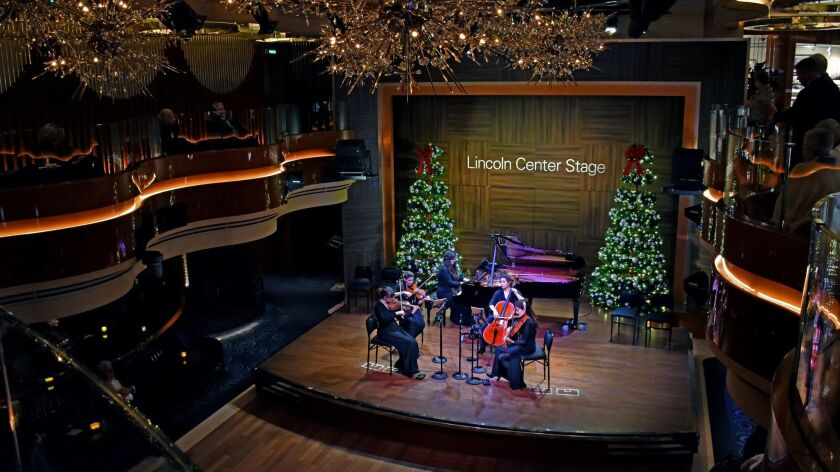 In a lounge that doubled as B.B. King?s Blues Club, Lincoln Center Stage hosted an engaging and tale