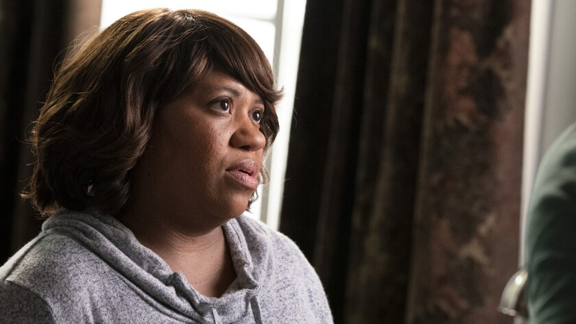 """Chandra Wilson and Jason George in """"Station 19"""" on ABC."""