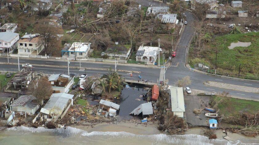 Puerto Rico was devastated by Hurricane Maria.