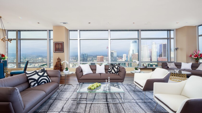 Mary Hart and Burt Sugarman's downtown L.A. condo | Hot Property