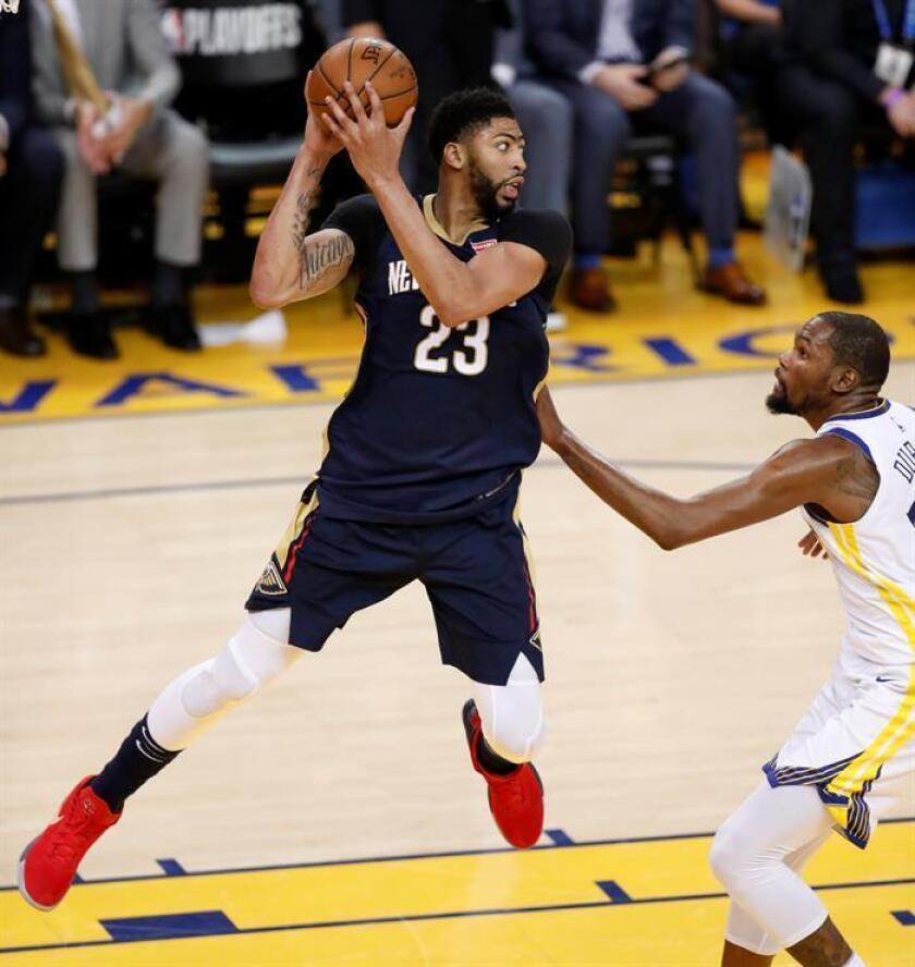 Anthony Davis, jugador de los Pelicans de Nueva Orleans. EFE/Archivo