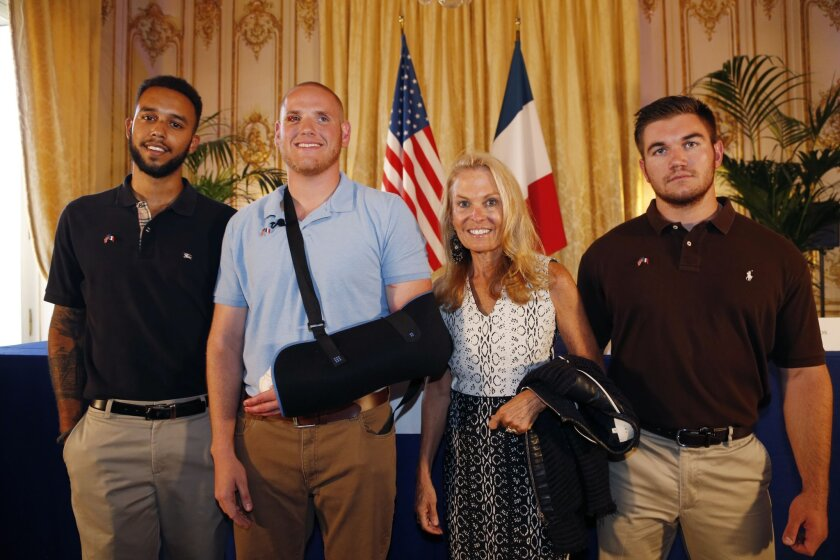 Americans recount French train attack: 'He was ready to fight to the end. So were we.'