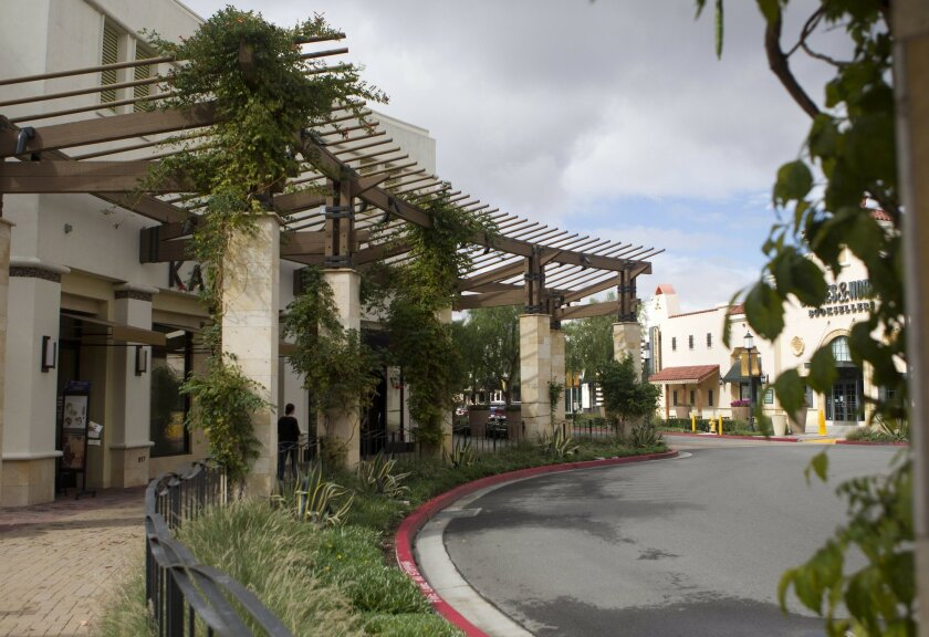 The Otay Ranch Town Center, opened in 2007 and pictured here in 2010, will welcome four new restaurants in the next few months.