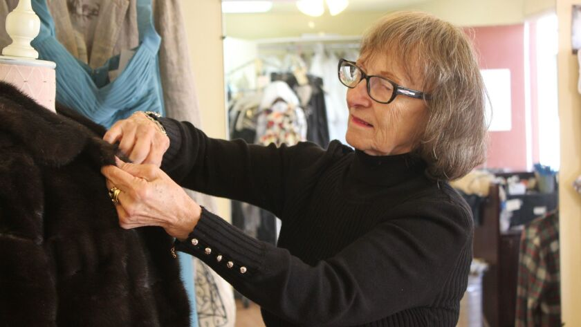 Many of Kiki's clients are loyal and she's been altering their clothes for decades.