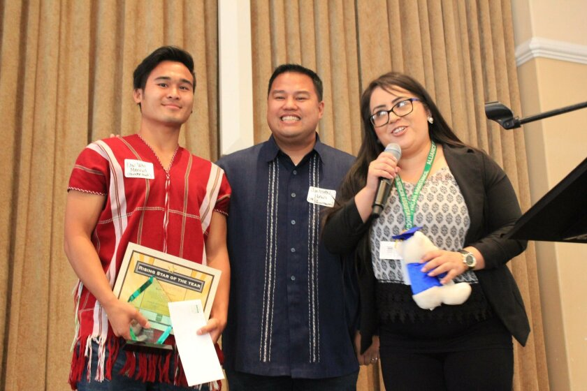 Kaw Wah Maeywa, Jonathan Burgos and Alexiz Martinez