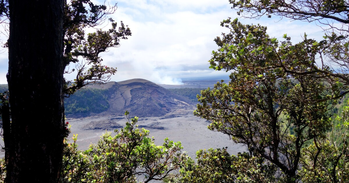 The best way to see the volcano on Hawaii Island