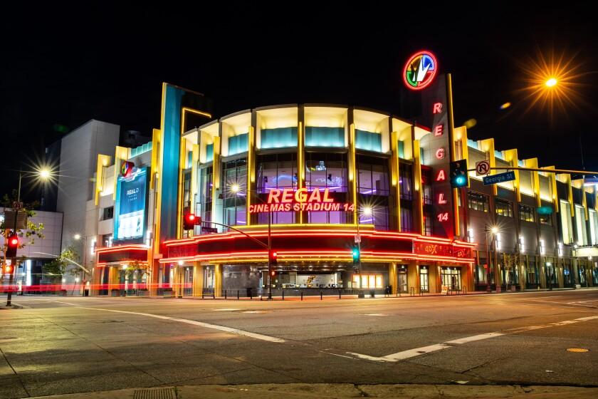 The Regal LA Live & 4DX theatre.