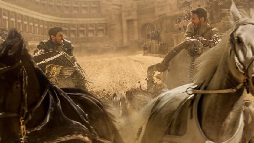 "Toby Kebbell and Jack Huston in ""Ben-Hur."""