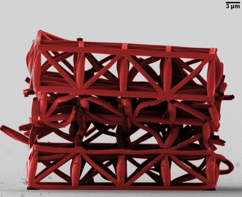 Bone-like building materials