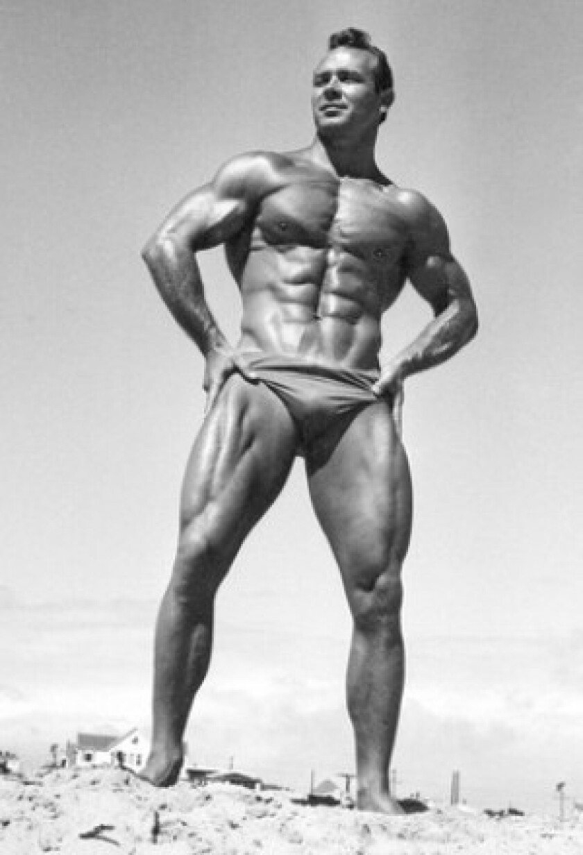 Irvin 'Zabo' Koszewski, who competed well into his 40s, won several best abdominal titles during his three decades of bodybuilding competitions.