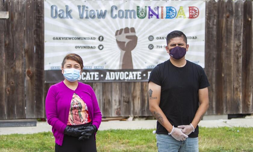 Oak View activists