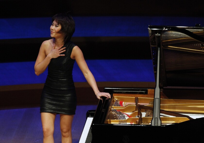 Conversation with classical pianist Yuja Wang