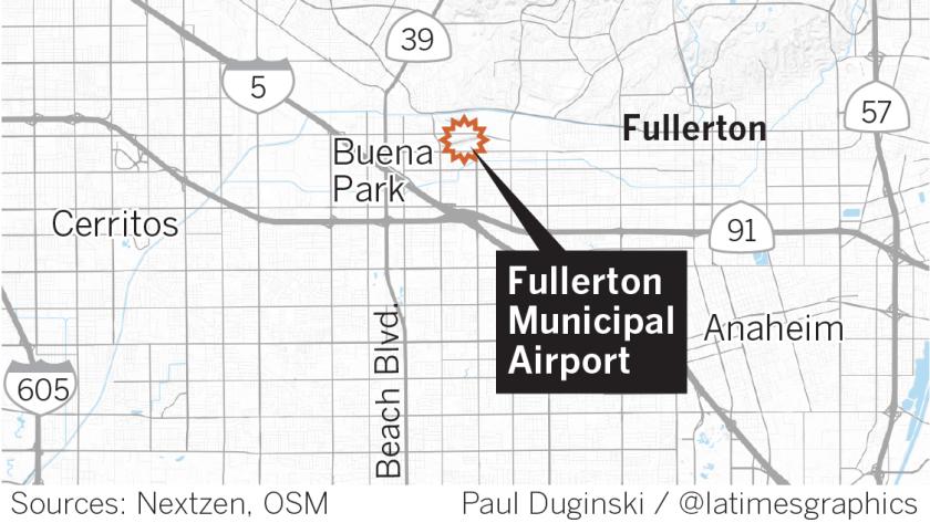 Fullerton Municipal Airport