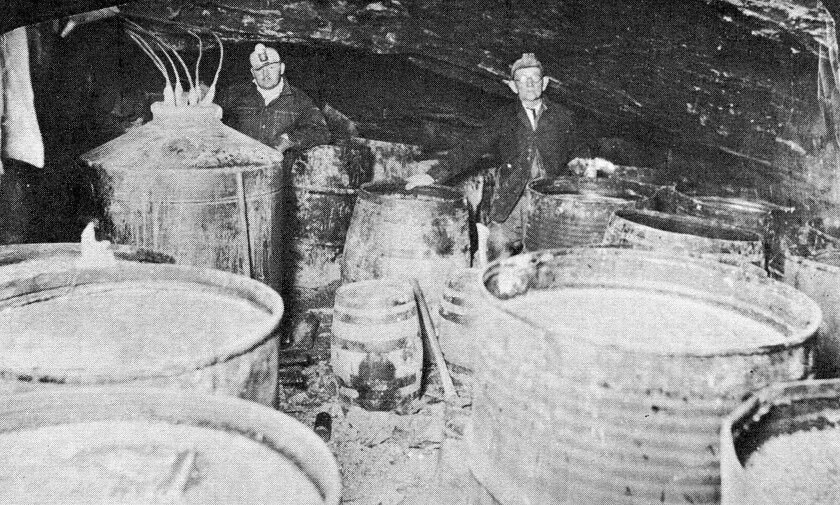 Early moonshiners in Ohio's Hocking Hills were known for creating some of the best bootleg whiskey in the nation.