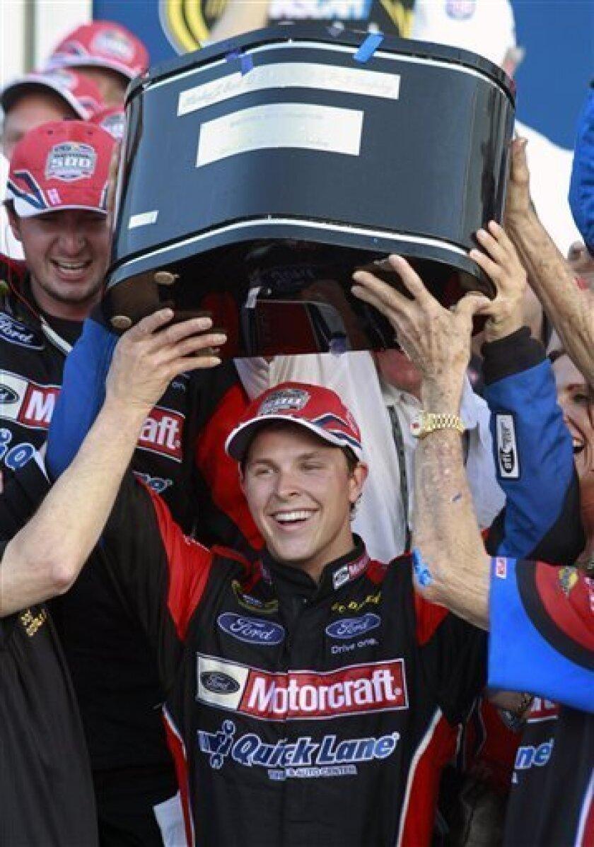 20 Year Old Bayne Wins The Daytona 500 The San Diego Union Tribune