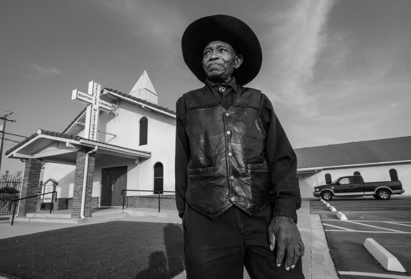 """Reverend R. L. Walker and his Galilee Missionary Baptist Church in Fairmead featured in the book """"Th"""