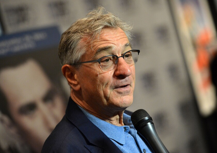 """Once Upon A Time In America"" cast member Robert De Niro attends the film's photo call at the New York Film Festival."