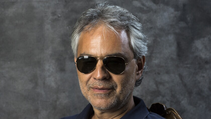 Andrea Bocelli revealed he tested positive for COVID-19 but recovered in March.