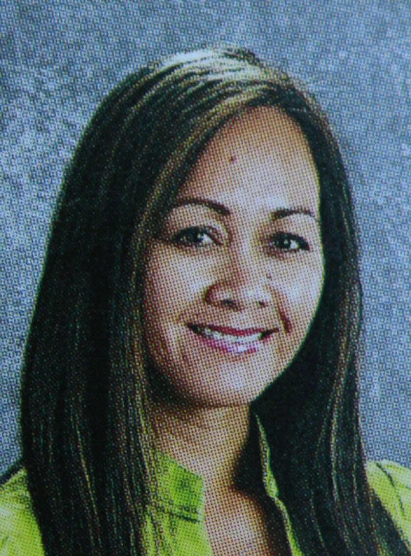 Mary Alvarez, who also goes by Catherine Alvarez, was one of the people killed in a murder-suicide in Chula Vista on Tuesday, June 1, 2011. She is shown here in a San Ysidro High School yearbook, where she worked.