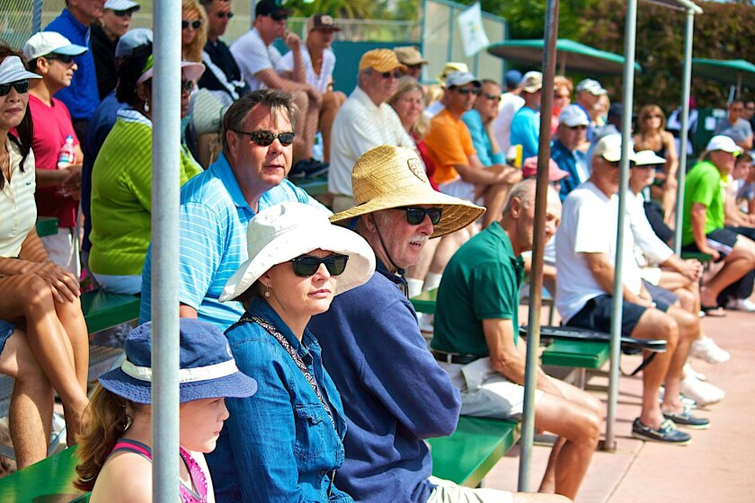 It's free to watch the tennis players compete for wins!