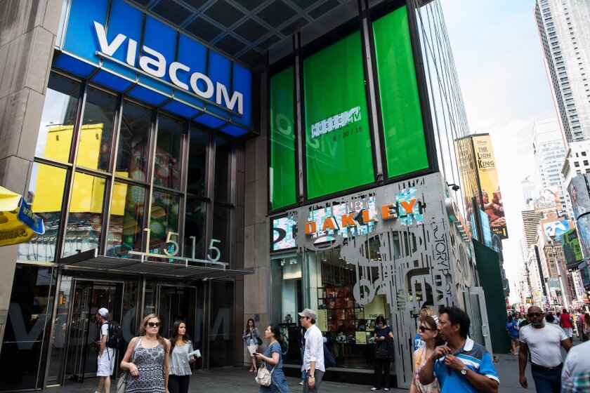 Viacom headquarters in New York.