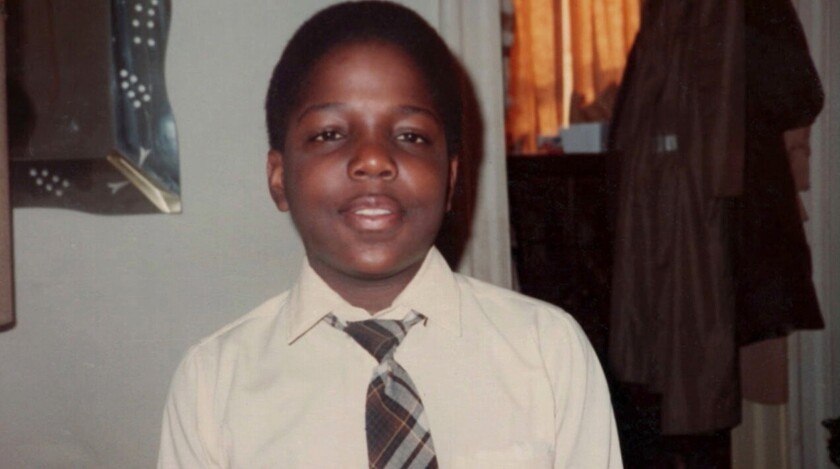 "A young Christopher ""Biggie"" Wallace in the documentary ""Biggie: I Got a Story to Tell."""