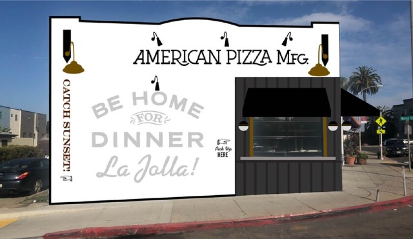 American Pizza Manufacturing is slated to open in late February in La Jolla.