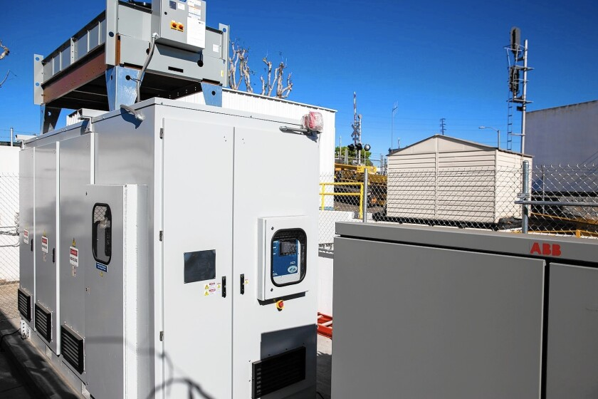 DESI (Distributed Energy Storage Integration) uses lithium-ion battery technology by NEC Energy Solutions to help Southern California Edison deliver more reliable electricity.