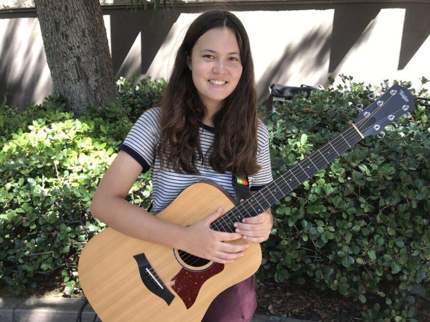 Nina Tipton, 15, San Diego High School