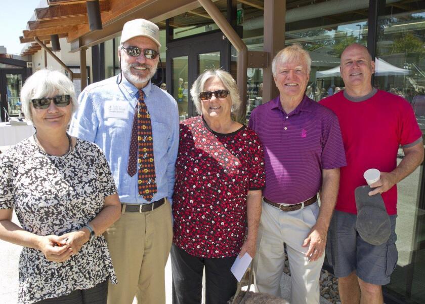 Betty Wheeler, Dwight Worden, Lynn and Charles Gaylord, Tim Haviland