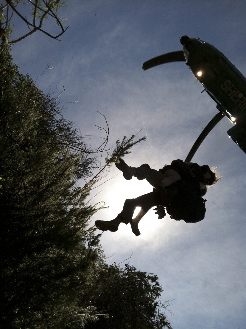 Rescued hikers won't be charged for five-day search