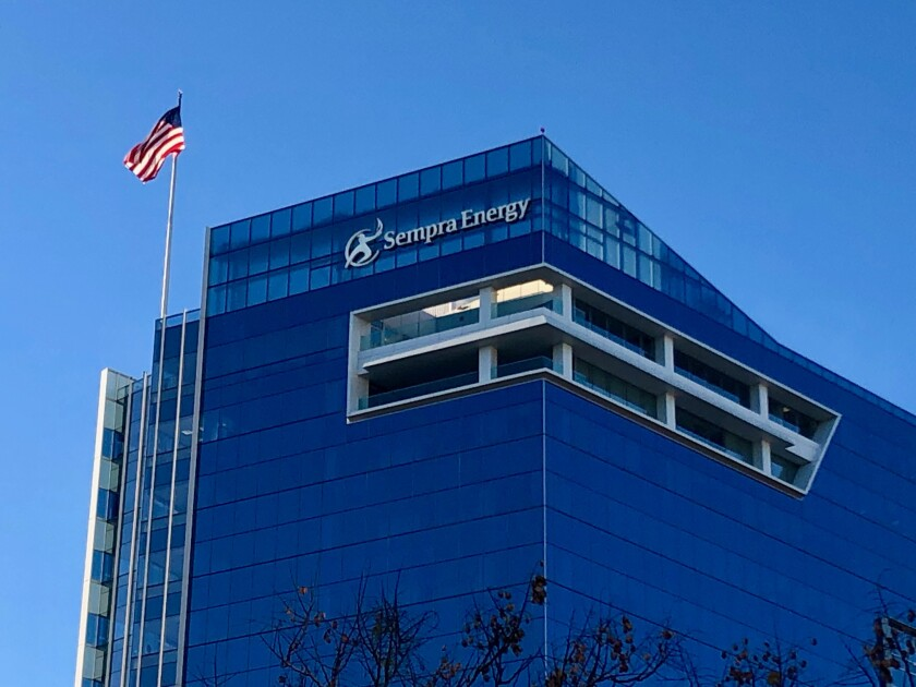 Sempra Energy headquarters in downtown San Diego.